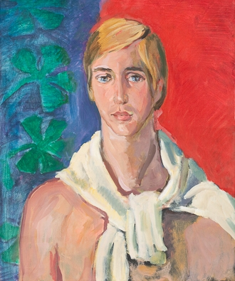 Elmy de Hory (1906–1976), Portrait of Mark, 1969, oil on canvas. Collection of Mark Forgy.