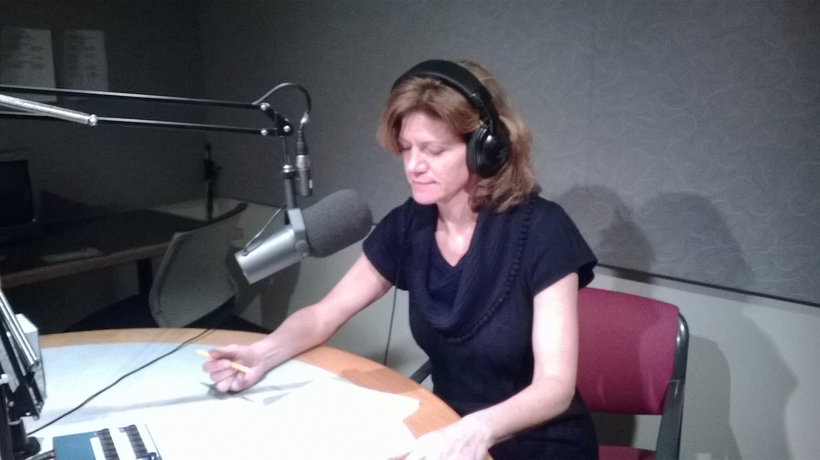 Colette Loll at CBC interview